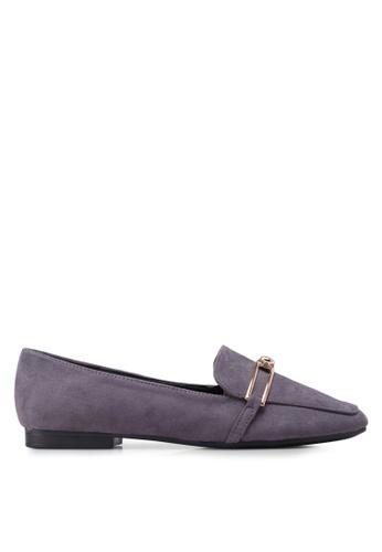 Something Borrowed purple Slip On Loafer Flats ADAAFSHB1C6AF0GS_1