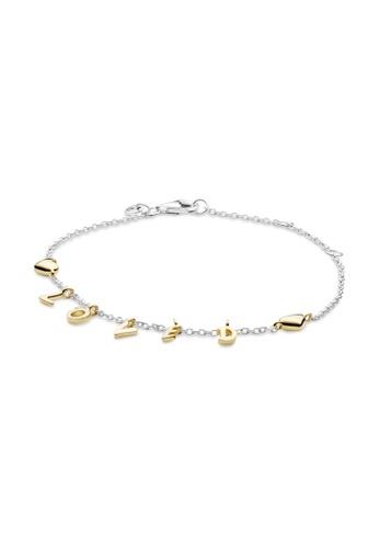 Pandora gold Pandora Loved Script Bracelet 02A33ACD1FDD3CGS_1