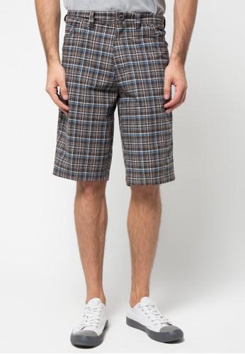 Malibu black and blue Bermuda Short Pants MA962AA11ZWYID_1