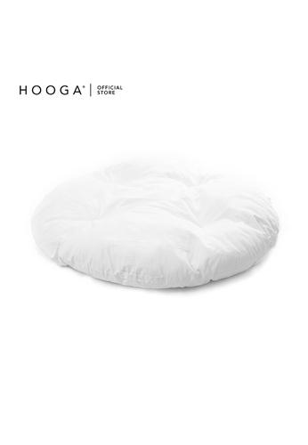 HOOGA white Hooga Floor Cushion Fernnie F19BAHL6F9FA4FGS_1