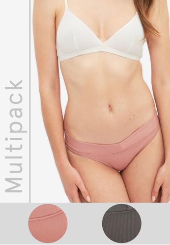 Trendyol pink 2-Pack Panties D1F59US728870AGS_1