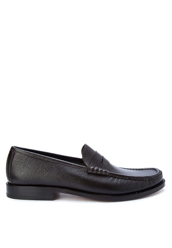 Moreschi brown Men's Casual Dress Shoess Penny Loafers MO298SH0K4BVPH_1