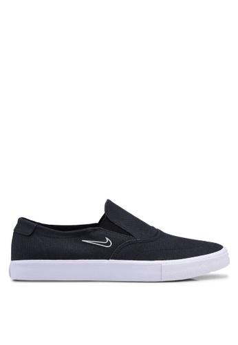 Nike black Nike SB Portmore II Solarsoft Slip Shoes C86D9SHDF33DACGS_1