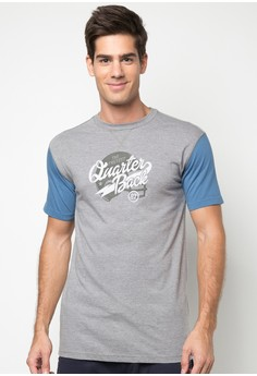 Bench Men's Round Neck Printed Tee