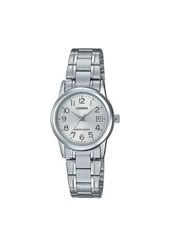 Casio silver CASIO GENERAL LTP-V002D-7BUDF UNISEX'S WATCH 2BD35ACD694180GS_1