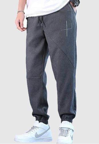 Twenty Eight Shoes grey VANSA Solid Color Casual Sport Pants  VCM-P8008 98BD0AA48FDA56GS_1