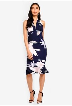 d22e0075b72 39% OFF AX Paris Floral Backless Fishtail Dress S  70.90 NOW S  42.90 Sizes  8 10 12 14
