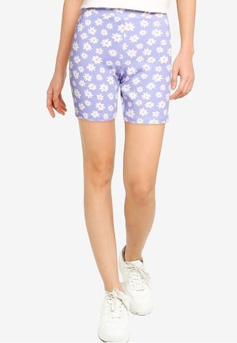 Cotton On purple The Pip Jersey Bike Shorts 5B6EFAA32C26C9GS_1