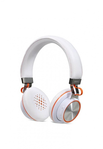 Stylebox white REMAX RB-195HB Stereo Multi-points Wireless Bluetooth 4.1 Headset Headphone 40504AC98987CAGS_1