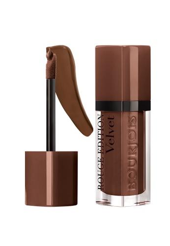 BOURJOIS brown Bourjois Rouge Edition Velvet Lipstick #23 Chocolat Corset (Sept 21 onwards) F1C6CBE2963FD4GS_1