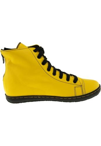 Maxstar yellow Maxstar Women's 202 Back Zipper Hidden Heel PU Ankle Boots US Women Size MA164SH32QTZSG_1