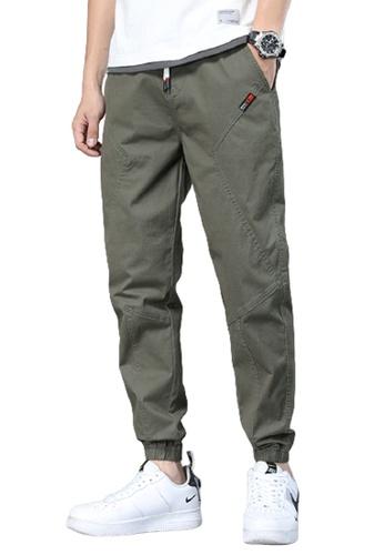 Trendyshop green Skinny Jogger Pants AF075AAD5BFE7BGS_1