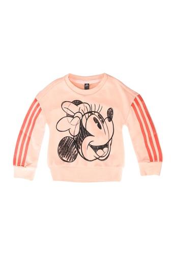 ADIDAS pink lg dy minnie mouse crew sweatshirt 06190KAE21692BGS_1