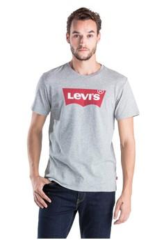 f2b6e982e7e Levi's grey Graphic Set In Neck Graphic H215 Midtone Htr 7BD78AA24B150DGS_1