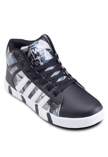 彩色印花繫帶運動鞋,esprit門市地址 鞋, 休閒鞋
