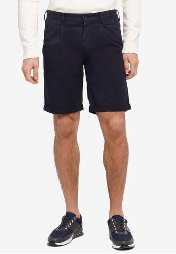 Calvin Klein black Hayden Pleat Shorts - Calvin Klein Jeans 3A50BAAE1D3961GS_1