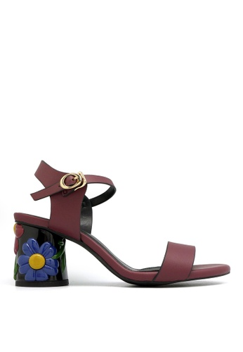 "Carlo Rino red Carlo Rino 33340-C024-14 2.5""Slingback Dress Sandals B5891SH3FCF4BEGS_1"