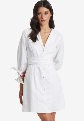 Willa white Robbi Dress 12E7DAA292AFA9GS_1