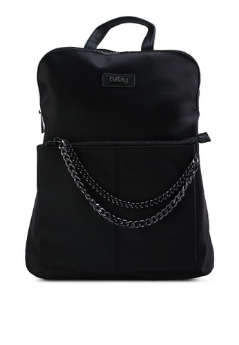 BETSY black Laila Backpack DEB05AC8F69DFBGS_1
