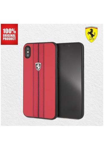 Ferrari red Casing iPhone XS Max Urban Off Track Ferrari - Red EBCA8ES95DF3B2GS_1