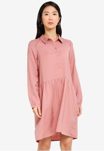 Vero Moda pink Fay Dress 7C10BAA0DF9FD8GS_1