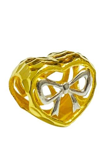 LITZ gold LITZ 916 (22K) Gold Love Charm GP0215B (0.77g+/-) B9B2EAC737A1CDGS_1