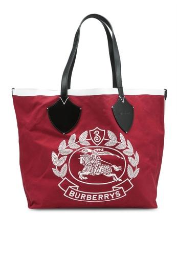 BURBERRY 紅色 Large 托特包 (oc) 5E8C5ACBD7E946GS_1