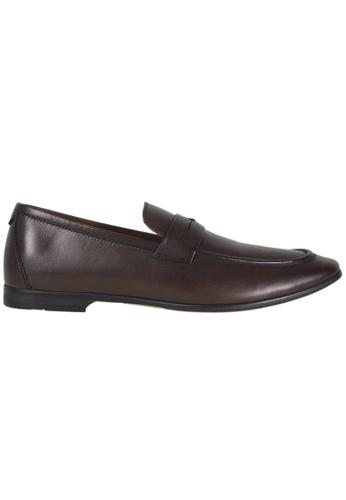 Tomaz brown Tomaz F145 Formal Saddle Slip On (Coffee) 606C4SH05C09BBGS_1