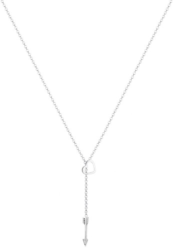 Elli Germany silver 925 Sterling Silver Kalung Heart Arrow Silver 5EEAAACBACD08DGS_1