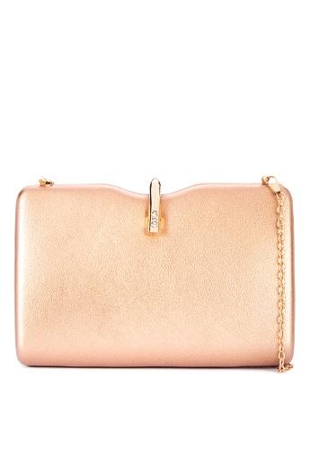 Cava Bags gold U Clasp Notched Minaudiere Glossy 20F03AC4F16CBFGS_1