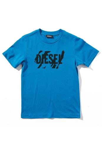 Diesel Short Sleeves T-shirt 8A074KADF460ABGS_1
