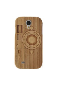 Camera - Genuine Wood Full Cover for Samsung S4