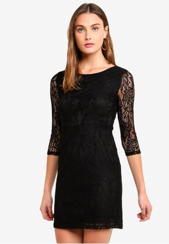 ONLY black Santa Cruz Mid Dress C8CD8AA849ABE8GS_1