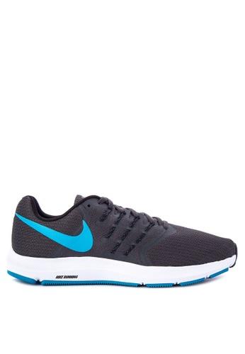 Nike black and blue Men's Nike Run Swift Running Shoes NI126SH0STTMMY_1