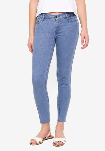 Levi's blue Line 8 Mid Skinny Jeans AB20BAADBED9F4GS_1