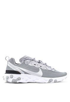 new concept 550f9 6e543 Nike black Nike React Element 55 Shoes DC67DSH61FFA66GS 1