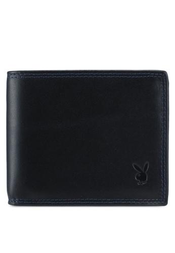 Playboy black Playboy RFID Blocking Wallet 2C063AC5040D93GS_1