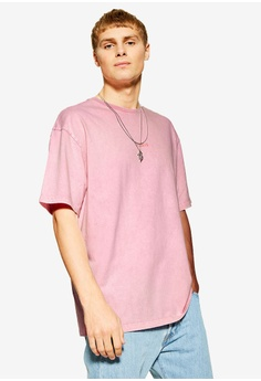 3d332e595db Topman pink Pink Paris Oversized T-Shirt 5C726AAC668F69GS 1