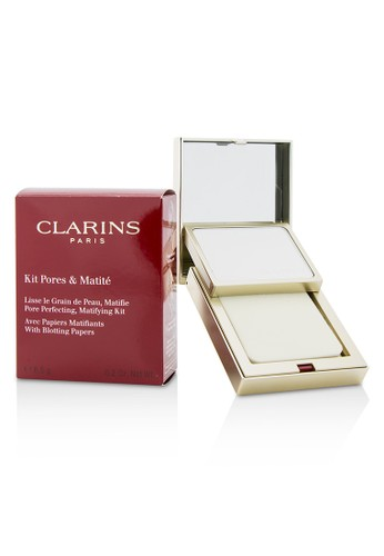 Clarins CLARINS - Pore Perfecting Matifying Kit with Blotting Papers 6.5g/0.2oz 6BC33BE17F393AGS_1
