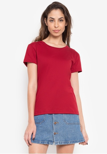 Greatvalueplus red Newyork Army Ladies Roundneck Shirt 0219 4FCFEAA1656FF1GS_1