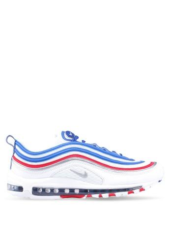 Nike blue and multi Men's Nike Air Max 97 Shoes 70C0CSHEE1C186GS_1