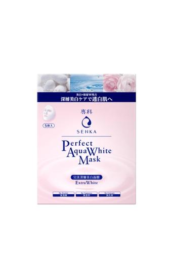 SENKA SENKA Perfect Aqua White Mask Extra White (5P) 21603BE6D95D27GS_1