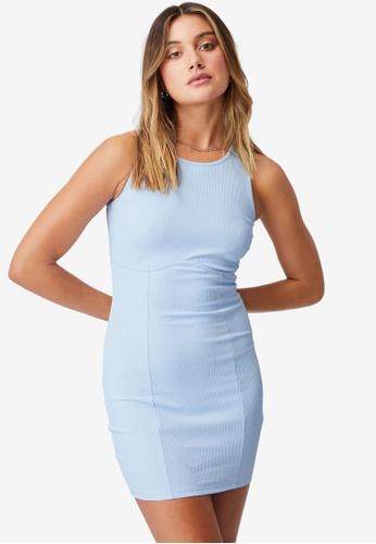 Supre blue Allie Fitted Mini Dress 9F2FAAA15B34ACGS_1