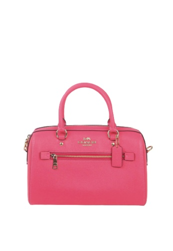 Coach pink Coach Rowan 79946 Satchel Bag In Eletric Pink 65970AC70C29B8GS_1