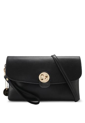 Perllini&Mel black Faux Leather Clutch PE444AC0SJ0CMY_1