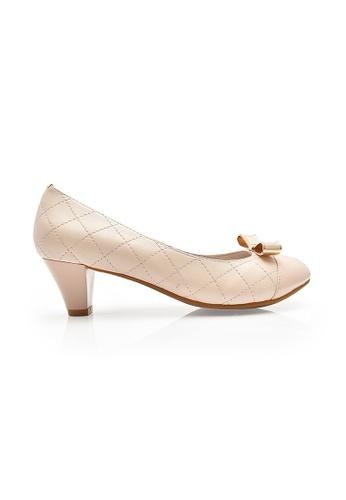 Elisa Litz pink Boutens Low Heels (Pink) EL365SH00ZIDSG_1