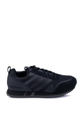 Superdry black Exclusive: Back By Demand - Fero Runner 5475CSH8B73F27GS_1