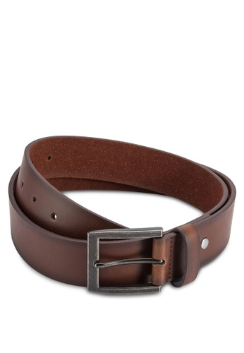 Burton Menswear London brown Brown Jeans Belt BU964AC66KWJMY_1