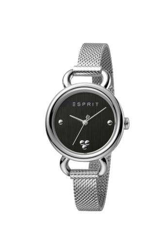 ESPRIT silver Esprit Women Play Black Silver Mesh Box Set With Bracelet ES1L023M0045 170A7AC6341BD4GS_1