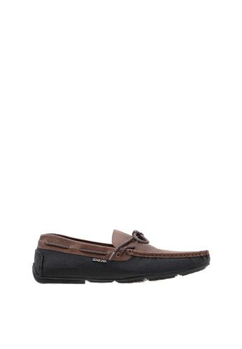 SEMBONIA brown SEMBONIA Men Microfiber Loafer (Dark Brown) 65DEFSHE9D47A5GS_1
